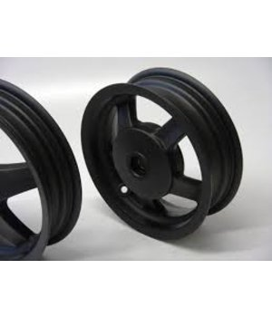 Vespa velgen set wielen Vespa LX LXV S Mat zwart