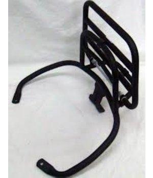Vespa Achterdrager Vespa LX / S achter rekje mat zwart origineel 675659