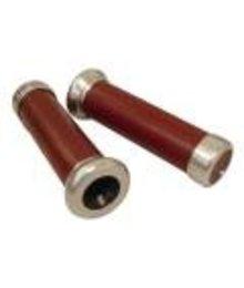 DMP Handvatten Vespa LX / LXV / S leder rood imitatie