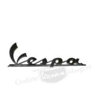Vespa Embleem Logo Mat Zwart Front