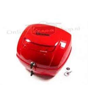 Vespa Originele Vespa koffer rood dragon kleurcode 894 LX S LXV