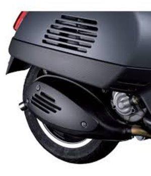 Motorschermenset zijskirt Carbon Vespa GTS