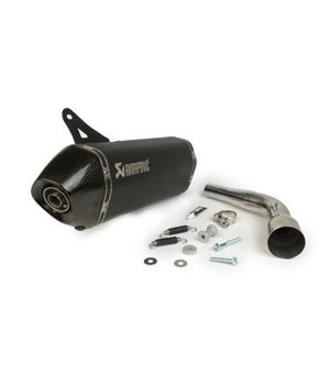 Akrapovic Black edition uitlaat Vespa GTS GTV
