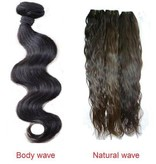 Double drawn hair weave
