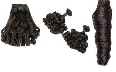 Hair weave #144 Geel