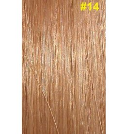 Clip-in extensions #14 Donkerblond