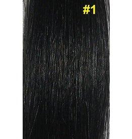 Nail-tip extensions #1 Gitzwart