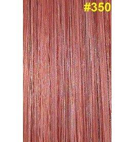 Flat-tip extensions #350 Licht koperrood
