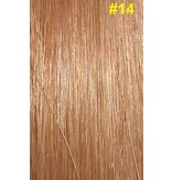 Flat-tip extensions #14 Donkerblond