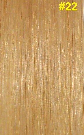 Flat-tip extensions #22 Natuurlijk licht blond
