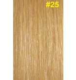 Flat-tip extensions #25 Warm blond