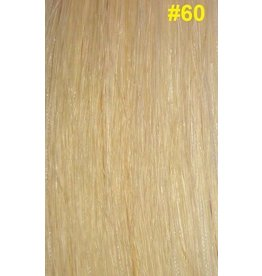 Flat-tip extensions #60 Platinablond