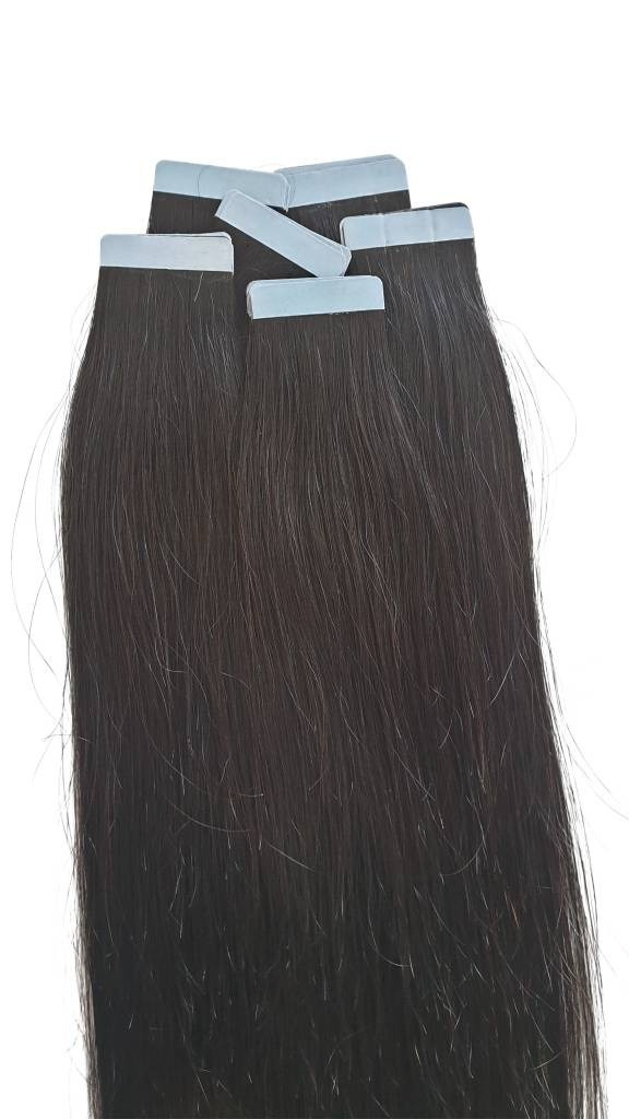 Tape extensions double drawn