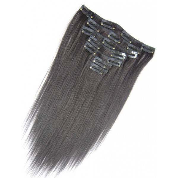 Goedkope double drawn clip-in extensions