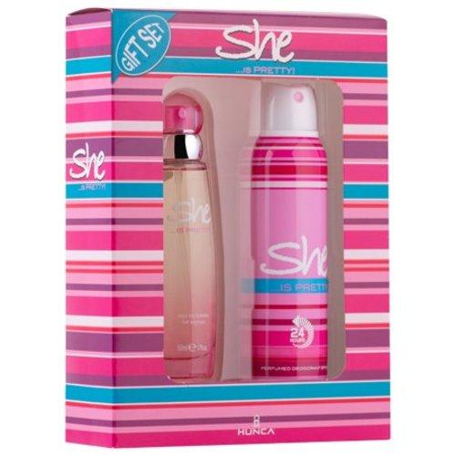 She She Giftset Eau de Toilette 50ml + Deodorant 150ml - Is Pretty