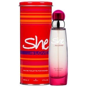 She She Eau de Toilette - Is Love 50ml
