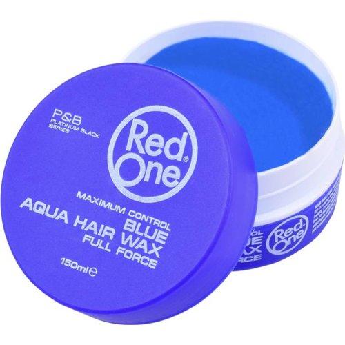 Red One  Red One Haarwax - Blauw Aqua Hair Wax 150ml