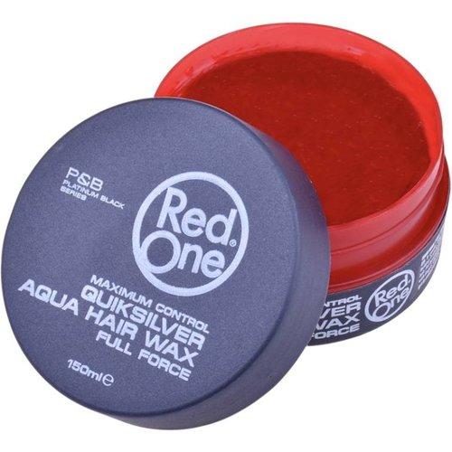 Red One  RedOne wax - Grijs Aqua Hair Haarwax 150ml