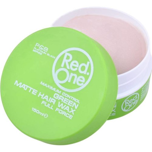 Red One  Red One Wax - Groen Matte Hair Haarwax 150ml