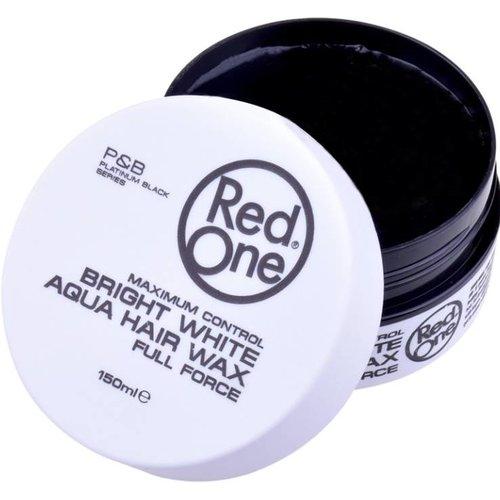 Red One  RedOne Haarwax - Wit Aqua Hair Wax  150ml