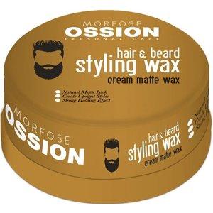 Ossion Ossion Haar en Baard Wax - Cream Matte 150ml