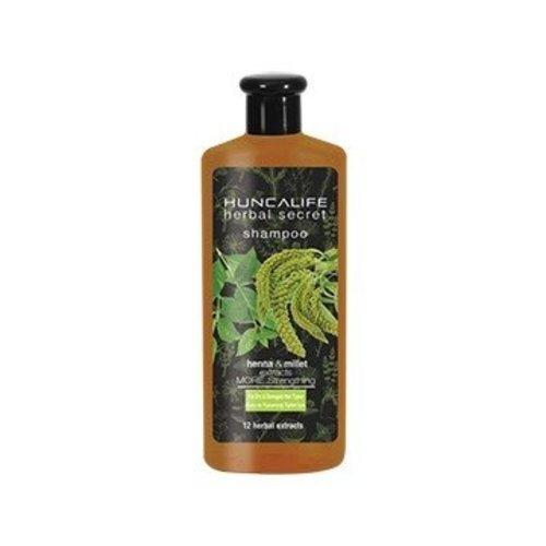 Hunca Huncalife Herbal Secret Versterkende Shampoo Droog En Beschadigd Haar - 700 Ml