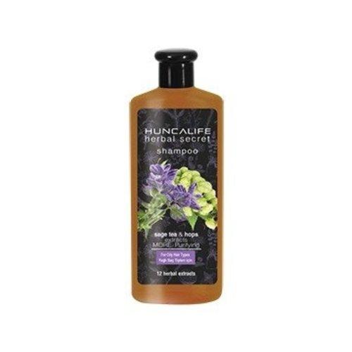 Hunca Huncalife Herbal Secret Zuiverende En Verzorgende Shampoo Vet Haar - 700 Ml