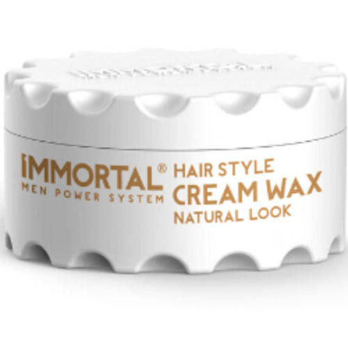 Immortal Immortal Cream Wax - Natural Look 150ml