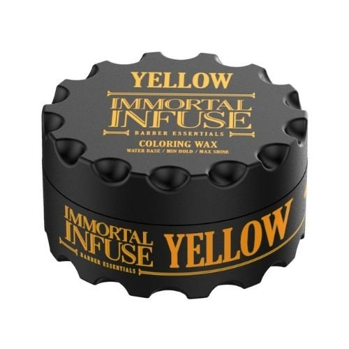 Immortal Immortal Color Hair Wax - Yellow 100ml
