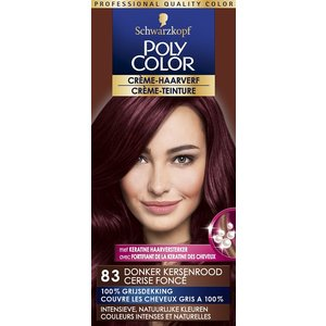 Poly Color Poly Color Haarverf 83 Donker Kersenrood
