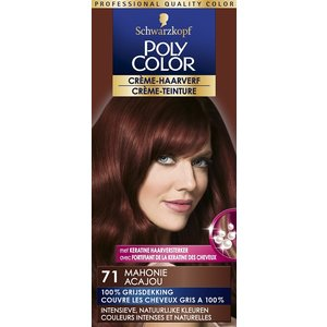 Poly Color Poly Color Haarverf 71 Mahonie