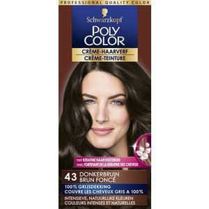 Poly Color Poly Color Haarverf 43 Donkerbruin