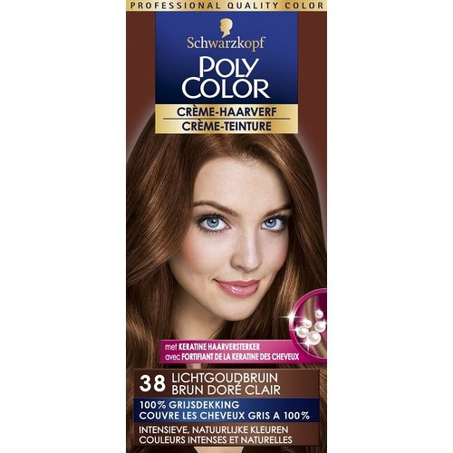 Poly Color Poly Color Haarverf 38 Lichtgoudblond