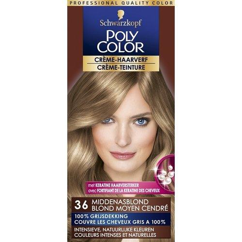 Poly Color Poly Color Haarverf 36 Middenasblond