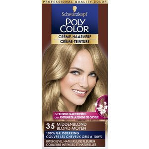 Poly Color Poly Color Haarverf 35 Middenblond