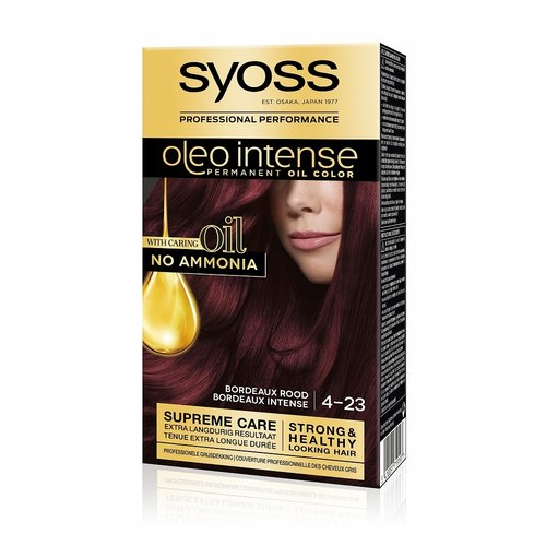 Syoss Syoss Oleo Intense 4-23 Bordeaux Rood