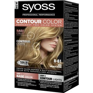 Syoss Syoss Contour Colors 8-61 Golden Blond