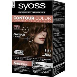 Syoss Syoss Contour Colors 3-81 Dark Brown