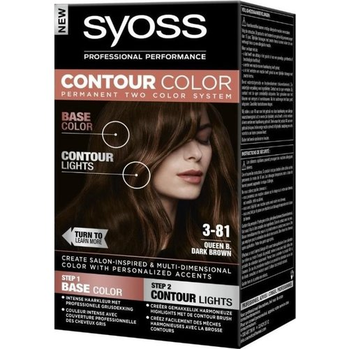 Syoss Syoss Contour Colors 3-81 Dark Brown
