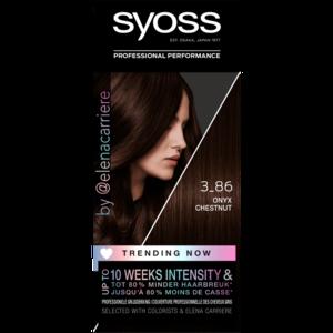 Syoss Syoss Colors Trending 3-86 Onyx Chestnut