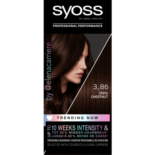 Syoss Syoss Colors Trending 3-86 Onyx Chestnut