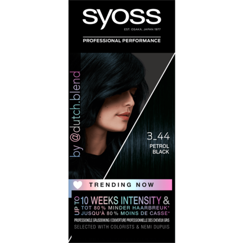 Syoss Syoss Colors Trending 3-44 Petrol Black