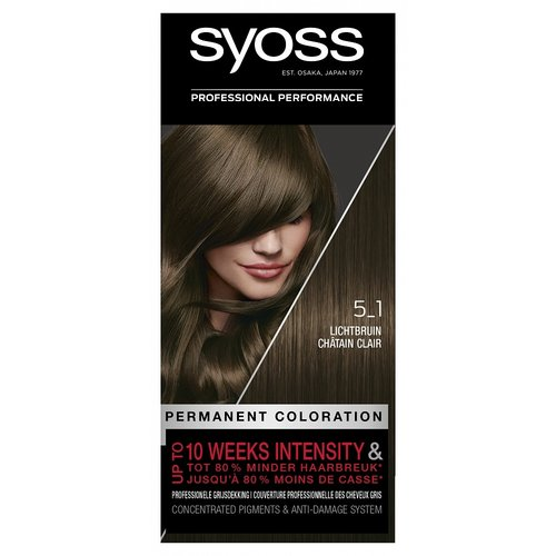 Syoss Syoss Colors 5-1 Light Brown