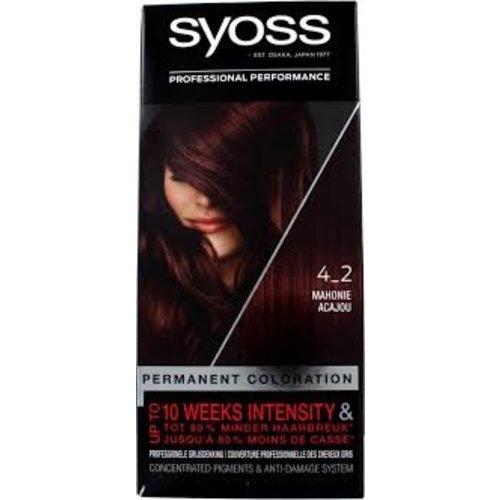 Syoss Syoss Colors 4-2 Mahagony Brown