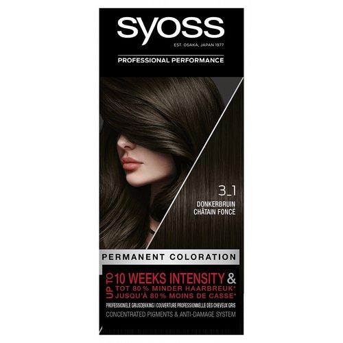 Syoss Syoss Colors 3-1 Dark Brown