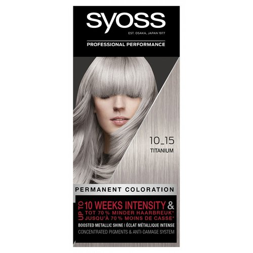 Syoss Syoss Colors 10-15 Titanium