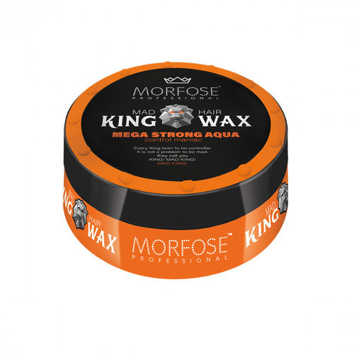 Morfose Morfose Hair Wax King - Mega Strong Aqua 175ml