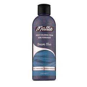 Mattie Mattie semi permanent haarverf denim blue 210 ml