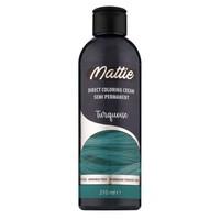 Mattie semi permanent haarverf  210 ml turquoise