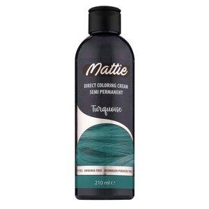 Mattie Mattie semi permanent haarverf  210 ml turquoise